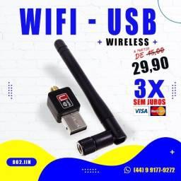 Título do anúncio: Antena Wifi-USB