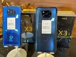 Poco X3 sem Nfc 6+64Gb Azul/Cinza Índia