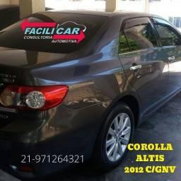 Título do anúncio: Corolla Altis 2012 c/ gnv