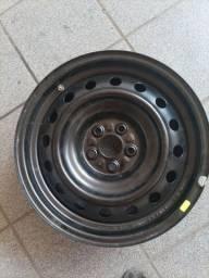 Título do anúncio: 1 roda de ferro do Corolla 2012 semi nova aro 16