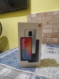 Note 9 pró 6 de ram e 64 GB nota fiscal película  sem marcas de uso ZAP *