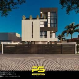 Título do anúncio: Cobertura duplex, com 3 dormitórios à venda, 127 m² por R$ 360.000 - Altiplano Cabo Branco