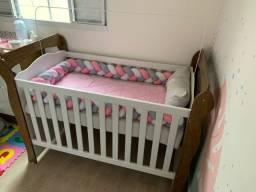 Berço Julie Amadeirado mini cama
