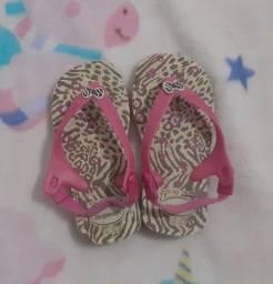 Calçados infantis femininos