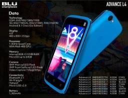 Pronta Entrega Blu L4 Dual Sim 8 Gb 512 Mb Ram