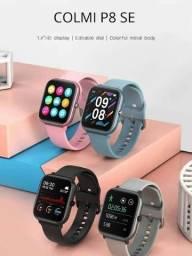 Título do anúncio: Relógio digital ( SmartWatch ) COLMI p8 SE Original