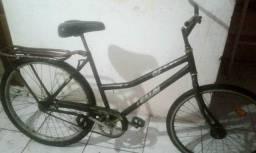 Vendo bicicleta Caloi aro 26 com freios de pé funcionando perfeitamente