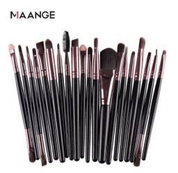 Kit de Pincéis de Maquiagem Maange- Kit com 20 peças!