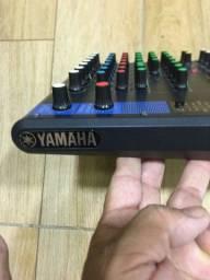 Mesa de som yamaha 10 cana top