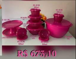 Título do anúncio: Kit Tupperware Rosa