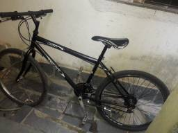Bicicleta preta Aro 26, 21 marchas