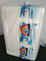 Caixa Térmica de isopor 60 litros, com dreno - Isoterm