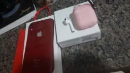 Título do anúncio: iphone xr vermelho
