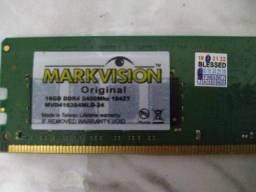 Título do anúncio: Memória Original MarkVision 16gb, DDR4, 2400 Mhz