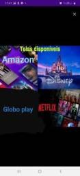 Título do anúncio: Netflix ultra HD globo play é outros disponíveis    smart TV Samsung 55..