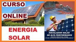 Cursos trabalhe com montagem de painel solar