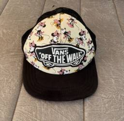 Boné Vans of the Wall, Minnie Mouse