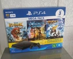 Playstation 4 slim 1 tb novo lacrado