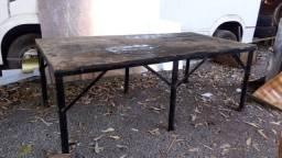 Mesa de ferro 2m x 1m