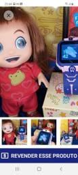 Kit boneca mas relógio infantil smart