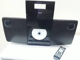 Micro System com DVD (usado) em até 10X no cartão.
