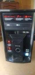 Computador Pentium Dual Core DDR3 HD500GB 2GB RAM