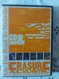 Dvd duplo Erasure On The road to Nashville