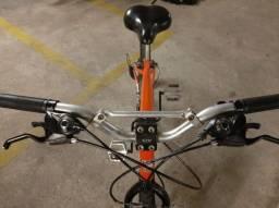 Bike laranja perolizada
