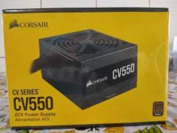 Fonte ATX Corsair CV550 nova