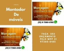 Título do anúncio: Montagens de moveis montador de moveis