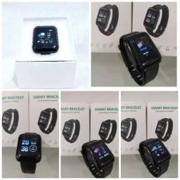 Lindos relógios Smartwatch D13 novos com caixinha.