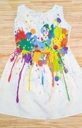Vestidos (Lol, flores, Lolipop, tinta) calçados