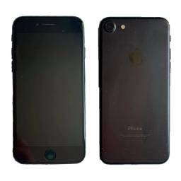 iPhone 7 128gb Preto Matte Ios 14 Usado