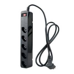 DPS iClamper Energia 5 Filtro de Linha 5 Tomadas, Preto - Bivolt ou 12X R$ 6,01