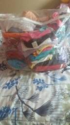 Lotinho de roupas usadas varias peças 250,00