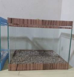 Título do anúncio: aquário 10 litros novos