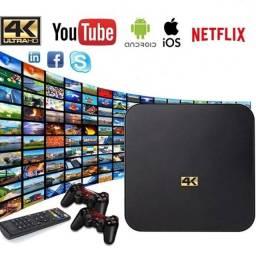 Tv box instalamos entregamos filmes Netflix YouTube loja física garantia