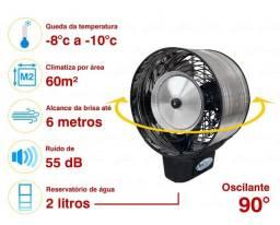 Título do anúncio: Climatizador Ventilador Umidificador De Ambientes Nevoa - 220v ou 127v  270w