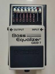 Geb-7 Equalizador de Baixo da Boss
