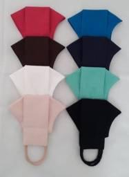 Máscaras Lisas diversas cores