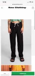 calça baw clothing preta