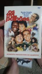 Box 3 DVDs dos trapalhões
