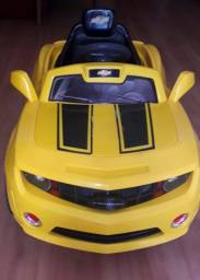 Carro elétrico infantil Camaro Amarelo