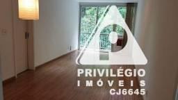 Apartamento à venda, 2 quartos, 1 suíte, 1 vaga, Lagoa - RIO DE JANEIRO/RJ