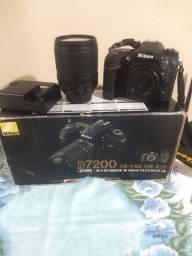 Câmera Fotográfica Nikon D7200