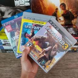 Trilogia Uncharted Ps3 Usado Original