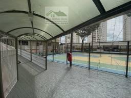 Area de lazer completa com piscina, playground, salão de festa