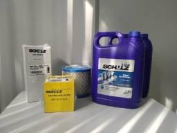 Kit Original troca de óleo e filtros Compressor srp 3015  srp 4015 Schulz
