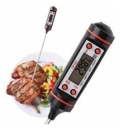 Termômetro Culinário Cozinha Digital Espeto Tp101 P/ Cozinha