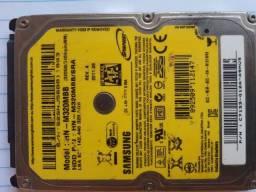 HD Samsung 320GB sata para notebook